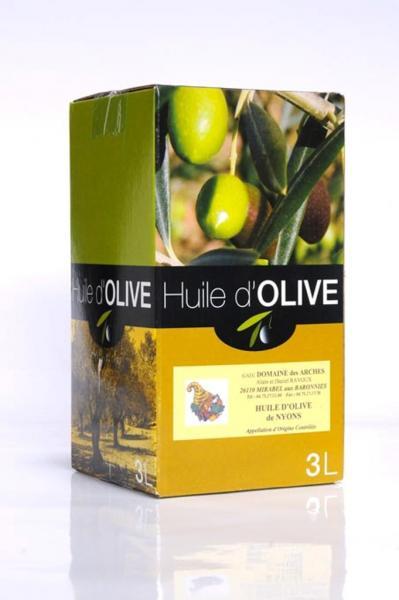 Huile d'olive de Nyons 3 L