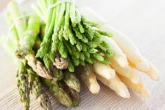 asperge blanche et verte