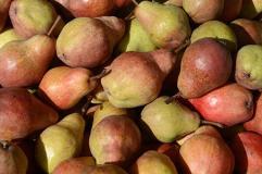 Produits locaux : poires de Nyons