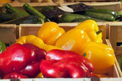 Produits locaux : poivrons