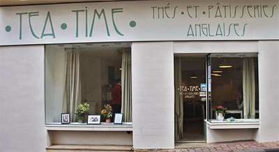 Salon de thé Tea Time Nyons