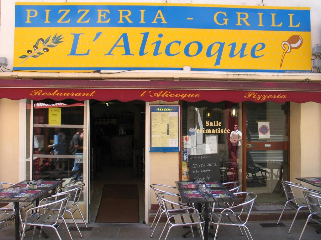 Pizzéria L'Alicoque - Nyons