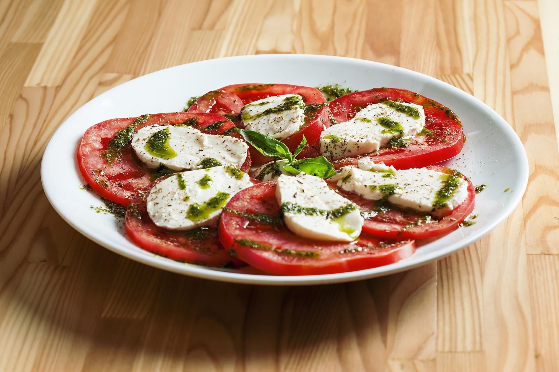 Salade de tomates du domaine des arches à mirabel aux baronnies